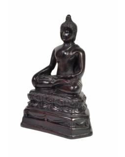 Soška Buddha Šakjamuni z pryskyřice, 14 cm