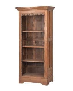 Knihovna z teakového dřeva, 80x50x185cm