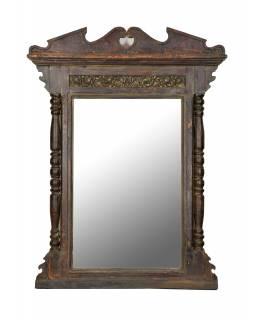 Zrcadlo v rámu z teakového dřeva, 117x12x154cm