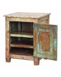 Noční stolek z teakového dřeva, 60x54x77cm