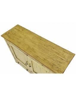 Stará skříňka z teakového dřeva, 96x33x78cm