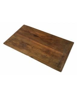 Čajový stolek z teakového dřeva, 69x40x7cm