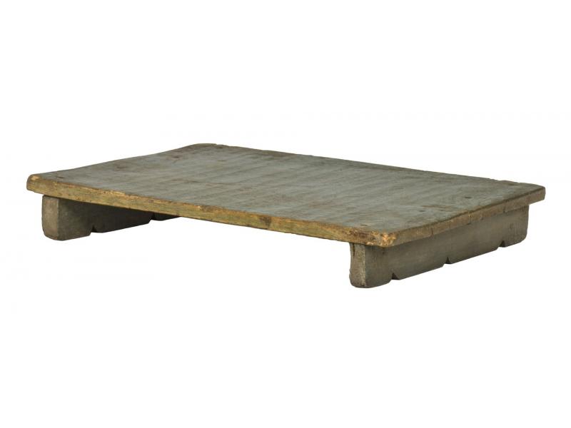 Čajový stolek z teakového dřeva, 50x32x7cm