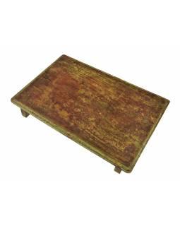 Čajový stolek z teakového dřeva, 50x34x8cm