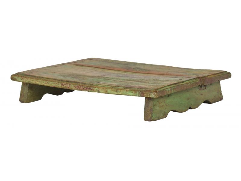 Čajový stolek z teakového dřeva, 50x35x8cm