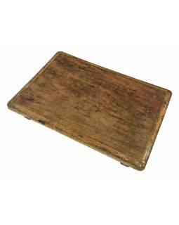 Čajový stolek z teakového dřeva, 53x37x8cm