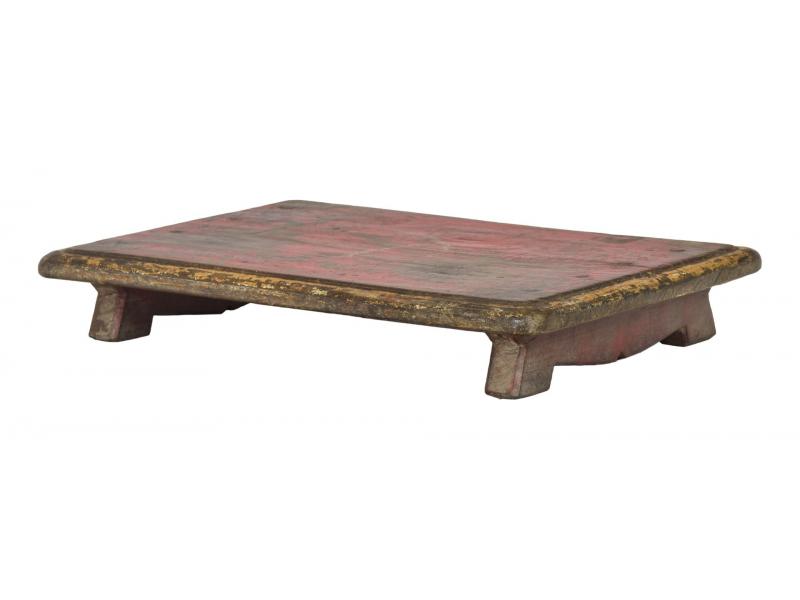 Čajový stolek z teakového dřeva, 53x38x8cm