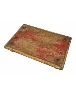 Čajový stolek z teakového dřeva, 54x38x8cm