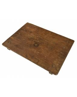Čajový stolek z teakového dřeva, 54x39x6cm