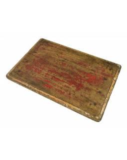 Čajový stolek z teakového dřeva, 56x37x8cm