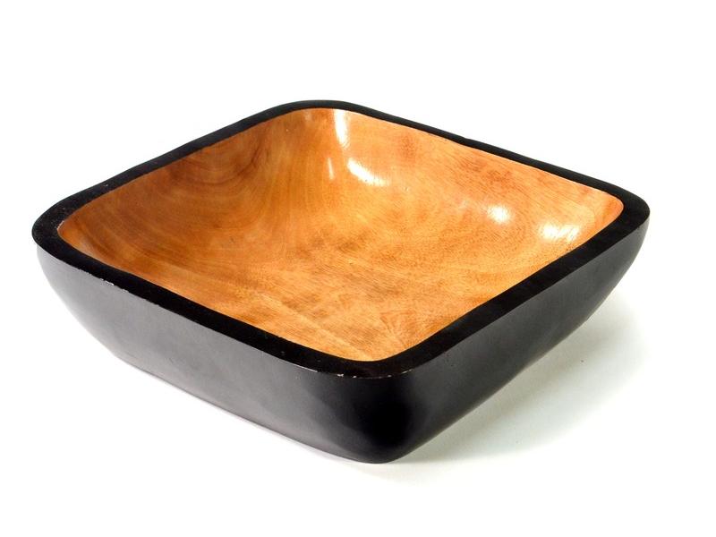 Mísa z palmového dřeva, 35x35x10cm
