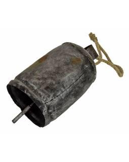 Jačí zvon, stříbrné provedení, 35x18cm
