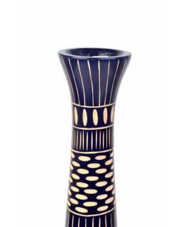 Váza z palmového dřeva, průměr 13cm, výška 64cm