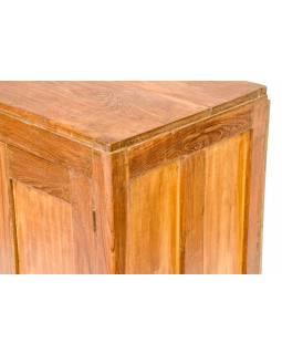 Stará skříňka z teakového dřeva, 61x38x93cm