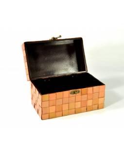Ratanová truhlička, světlá, 25x15x15cm