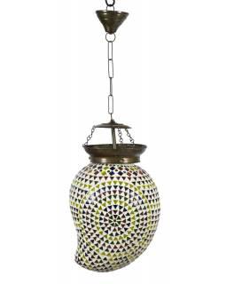 Lampa v orientálním stylu, skleněná mozaika, ruční práce, 23x20x30cm