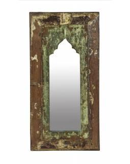 Zrcadlo v rámu z teakového dřeva, 27x3x55cm