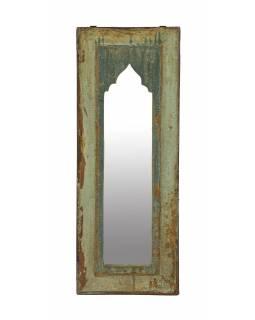 Zrcadlo v rámu z teakového dřeva, 23x3x59cm
