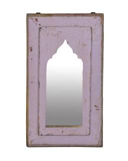 Zrcadlo v rámu z teakového dřeva, 26x3x45cm