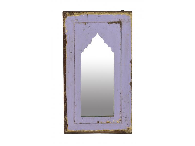 Zrcadlo v rámu z teakového dřeva, 29x3x53cm