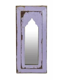 Zrcadlo v rámu z teakového dřeva, 24x3x51cm