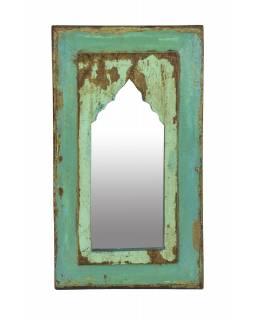 Zrcadlo v rámu z teakového dřeva, 29x3x51cm