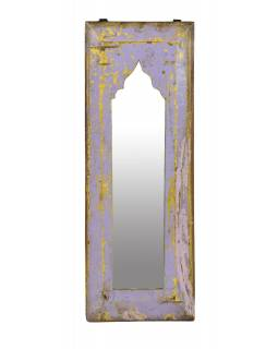 Zrcadlo v rámu z teakového dřeva, 20x3x53cm
