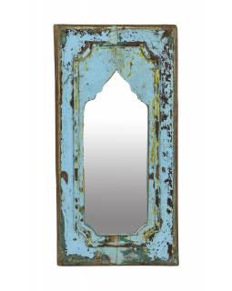 Zrcadlo v rámu z teakového dřeva, 24x3x47cm
