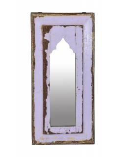 Zrcadlo v rámu z teakového dřeva, 26x3x53cm