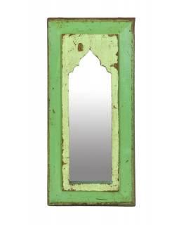 Zrcadlo v rámu z teakového dřeva, 22x3x49cm