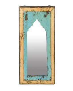 Zrcadlo v rámu z teakového dřeva, 26x3x55cm