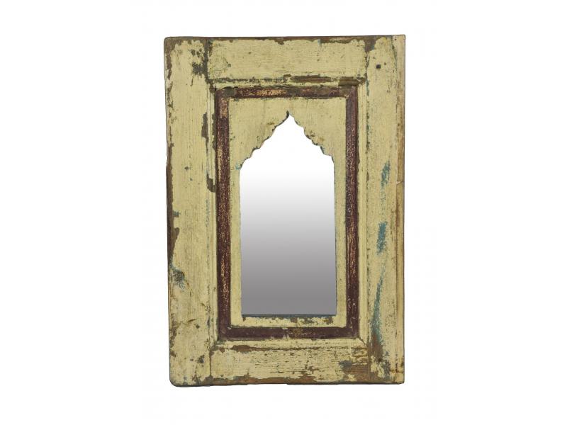 Zrcadlo v rámu z teakového dřeva, 38x3x59cm