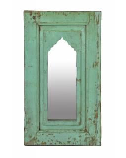 Zrcadlo v rámu z teakového dřeva, 38x3x67cm