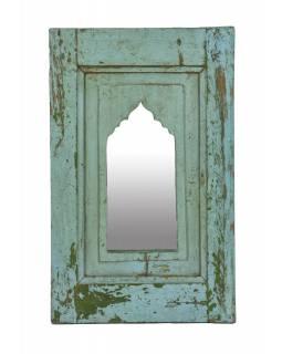 Zrcadlo v rámu z teakového dřeva, 38x3x60cm