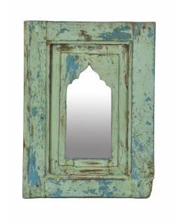 Zrcadlo v rámu z teakového dřeva, 35x3x48cm