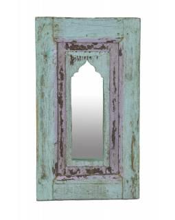 Zrcadlo v rámu z teakového dřeva, 33x3x57cm