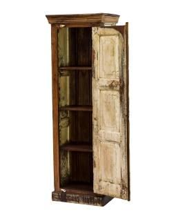 Skříň z teakového dřeva, 57x43x175cm
