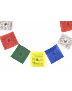 Modlitební praporky, 10x10cm, 10x prap., černý tisk