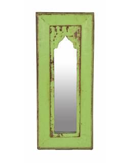 Zrcadlo v rámu z teakového dřeva, 20x2x49cm