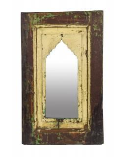 Zrcadlo v rámu z teakového dřeva, 38x5x61cm