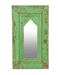 Zrcadlo v rámu z teakového dřeva, 38x5x66cm