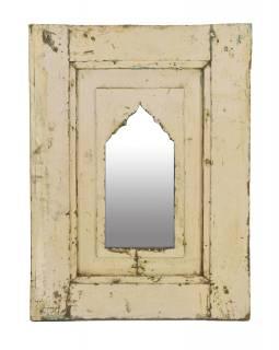 Zrcadlo v rámu z teakového dřeva, 43,5x5x58cm
