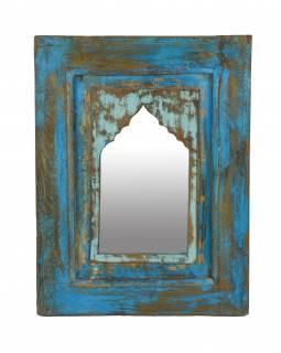 Zrcadlo v rámu z teakového dřeva, 40x5x52cm