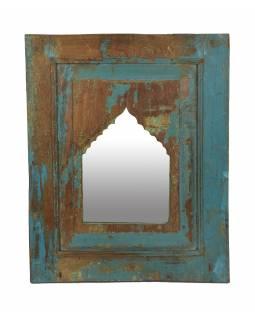 Zrcadlo v rámu z teakového dřeva, 48,5x5x60cm