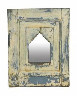 Zrcadlo v rámu z teakového dřeva, 51x5x65cm