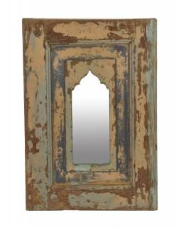 Zrcadlo v rámu z teakového dřeva, 36x3,5x52,5cm