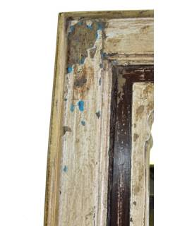 Zrcadlo v rámu z recyklovaného teakového dřeva, 30x3x60cm