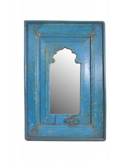 Zrcadlo v rámu z recyklovaného teakového dřeva, 37x55x3cm