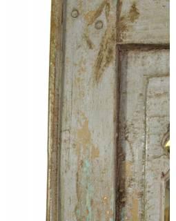 Zrcadlo v rámu z recyklovaného teakového dřeva, 31x62x3cm