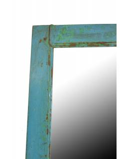 Zrcadlo v rámu z recyklovaného teakového dřeva, 36x60x3cm
